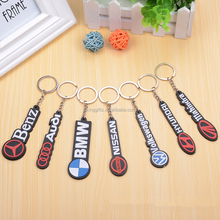 Custom car logo key chain / creative souvenir PVC keychain / design fashion 3D football boots and all types of keychains