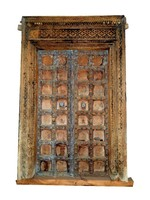 Architectural Vintage Carved Front door