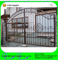 Chinese Manufacturer Decorative Lowes Wrought Iron Gates