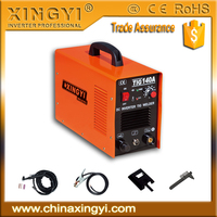 HOT SELL AC220V heavy duty inverter TIG-140 low price digital TIG WELDER