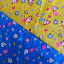 baby stretch cotton flannel white cotton flannel fabric for printing and dyeing