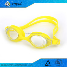 Customized professional easy colorful selection adjustable swimming goggles