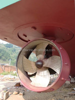 Marine electric hydraulic azimuth thruster sudder propeller