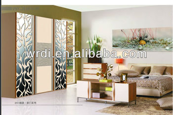 flower decorative formica/sunmica for sliding wardrobe