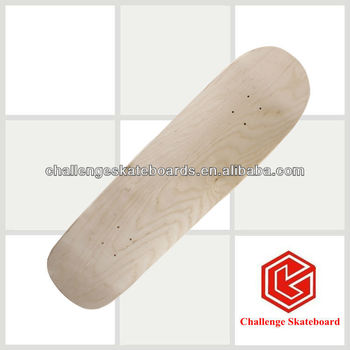 7 ply Chinese maple old school skateboard deck