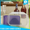 Food preserving collapsible FDA grade silicon storage boxes