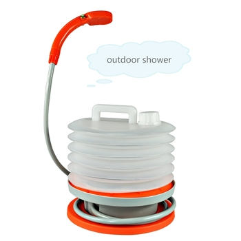 Rechargeable shower all-in-one Portable emergency shower for indoor and outdoor use