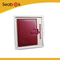 Beautiful Office Stationery Leather Notebook Gift Set