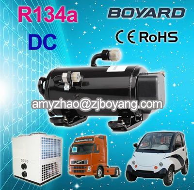 R134a hermetic rotary bldc compressor 48V DC inverter split wall mounted air conditioner for room using