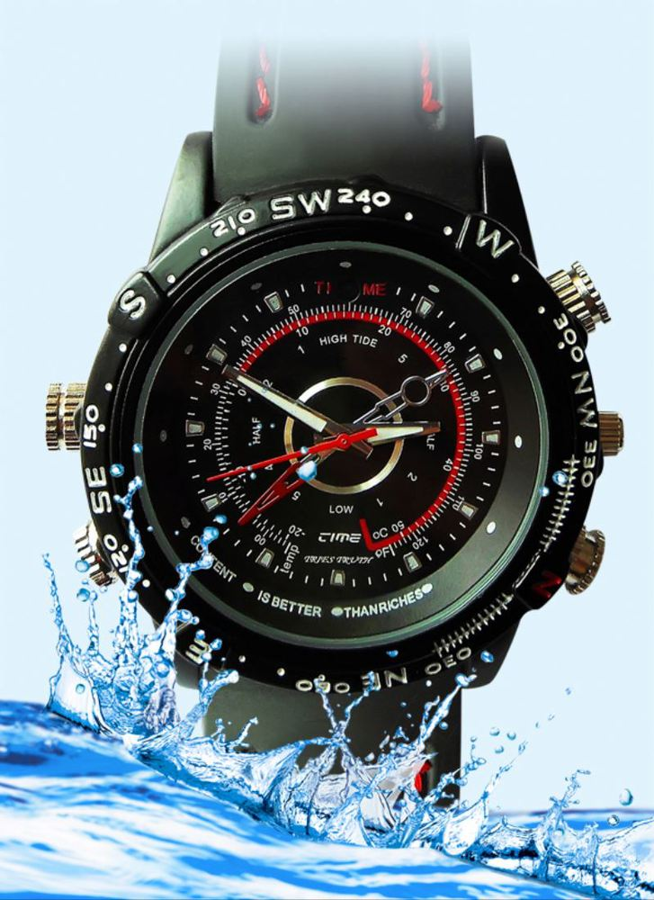 Watch shape waterproof 4GB MP9 min hidden camera