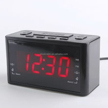 China Wholesale Factory Digital AM/FM Alarm Clock Radio Home