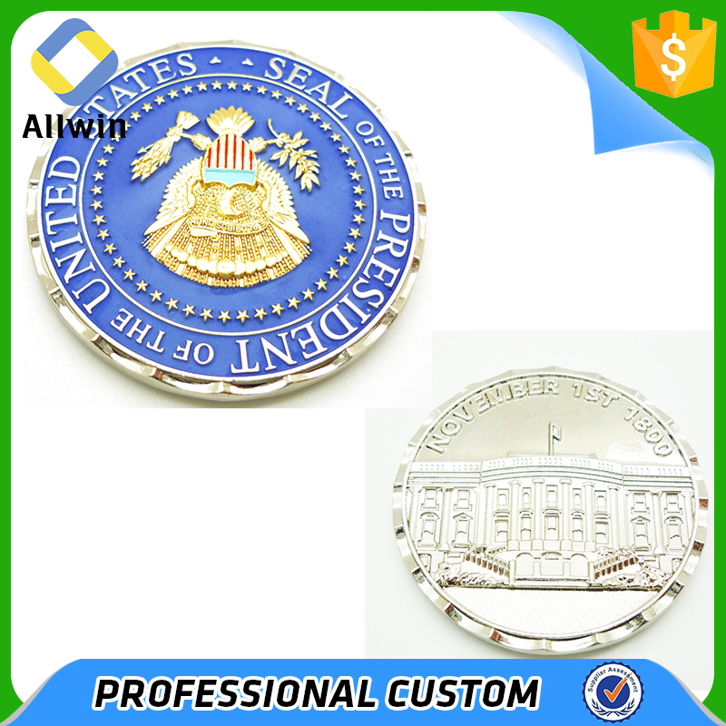 USA Seal Military Challenge Coins For President