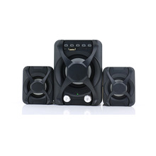 Wholesale active multimedia BlueTeeth 2.1 computer mid-woofer fm radio speaker