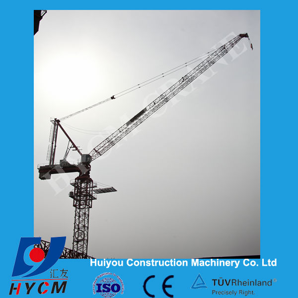 D6037 luffing boom tower crane exported to Middle East Iraq