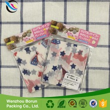 Borun folded heart star dot pattern wax paper