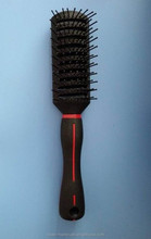 wholesales professioanl vent plastic hair brush for black men