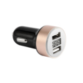 Portable 5V 2.1A Quick Mobile Phone Universal Car Charger with digital display