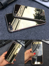 Full screen tempered glass protector for iphone 7, for iphone 7 colored mirror effect tempered glass screen protector