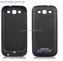 High quality 3200mAh extended battery melt charger case for samsung galaxy S3
