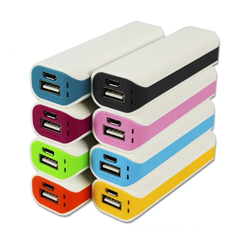 Hot new product mobile power bank 2600mA, Costm logo, Competitive gift battery charger for young students