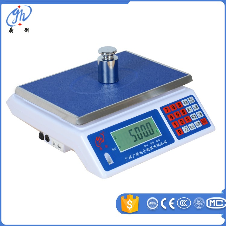 LCD display 30kg electronic weighing scales laboratory precision balance scale