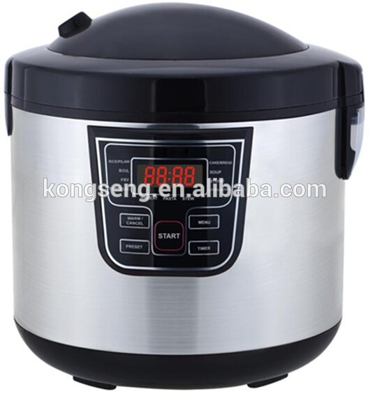 11 in 1 LED electric 6L multi cooker multi function rice cooker with GS CE CB