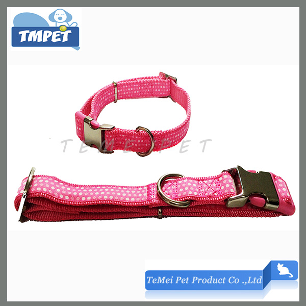 Pet accessories collar Strong and Durable Plastic Snap Closure collar dog