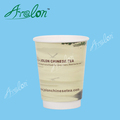 PLA coated design your own paper coffee cup