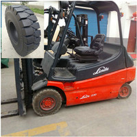 looking for famous brand LINDE forklift tire 6.50-10 solid tire atv tires with ISO9001