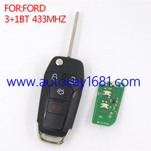 remote key for ford 433mhz 3+1button car key