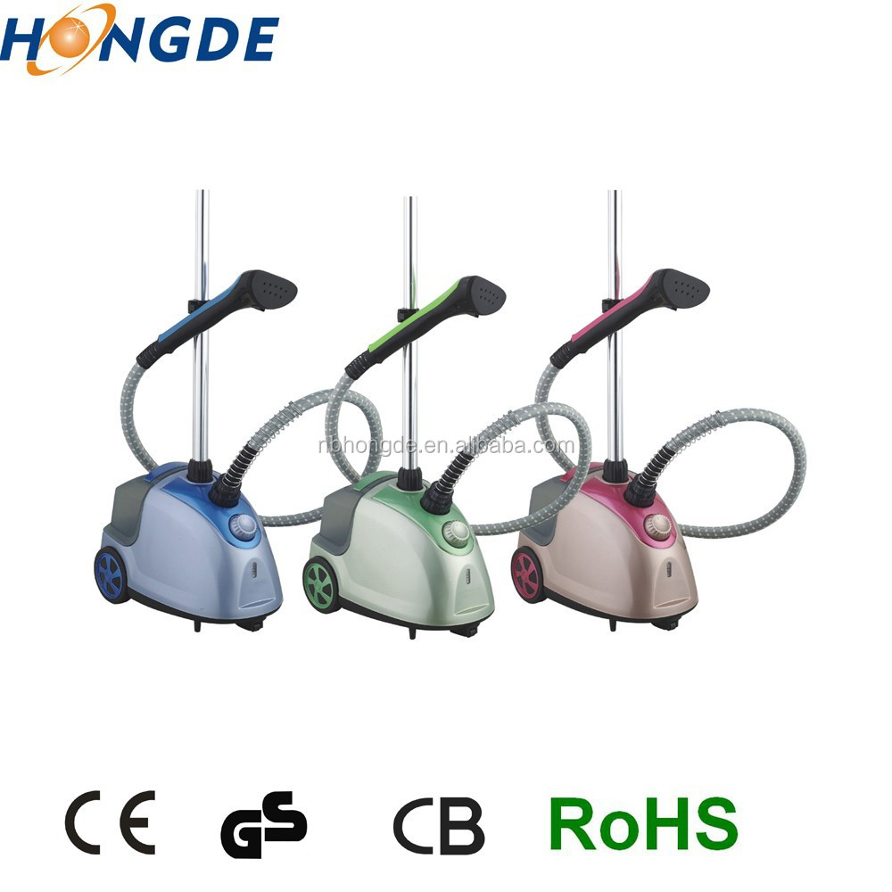 609B Easy Operating Professional Colorful Home Appliance hanging clothes steam iron