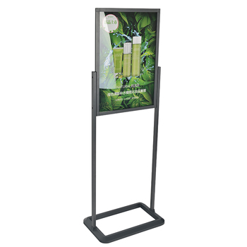 Sliver acrylic display stand,floor display stand,stand alone advertising display