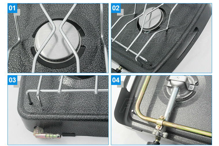 Simple 2 burner gas stove