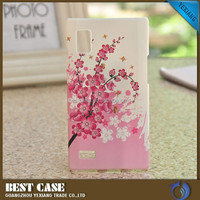 Cheap price hign quality case for cell phone for lg l9 back cover pc hard case