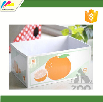 Customized Printing Colored Corrugated Packing Box