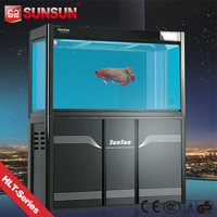 SUNSUN new view fish tank frp fish tank for home decoration