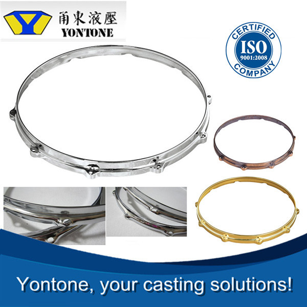 Yontone YT645 Leader ISO9001 Supplier High Value Added Aluminum Alloy ZL102 AlSi9Cu3 AlSi12Fe A380 A356 ADC12 Die Cast Drum Hoop