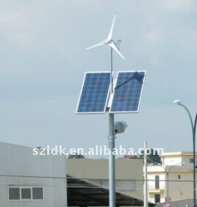 300W horizontal axis 3blades wind power generator