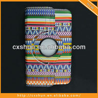 Hot Selling Aztec Leather Case For Samsung Galaxy Tab 3 7inch Tablet Case