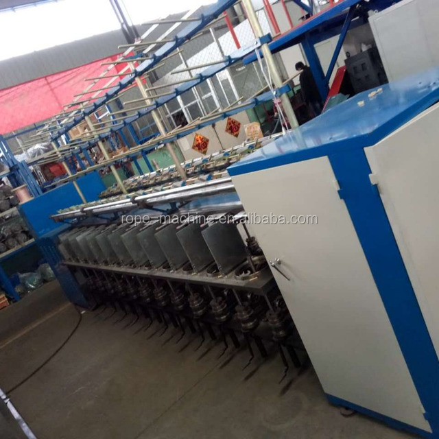 sewing thread making machine/single screw extruder/yarn spinning machine