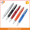 Factory direct sell click metal ball pen high quality custom touch screen stylus ball pen with company logo
