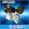 China alibaba best price high purity platinum crucible 100 ml with cover
