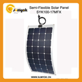100W sunpower portable flexible photovaltic panel for Yatch/Marine/Carvaran