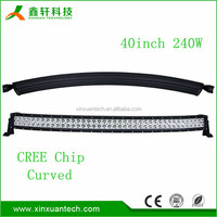 Double row 240w aluminum material 2D/4D 10-30Volt DC with high lumen chip 40 inch led light bar