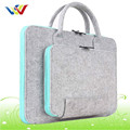 Felt Fabric laptop bag with fashion design