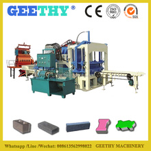 QT4-20C sand-lime brick production unit /automatic concrete cement brick factory