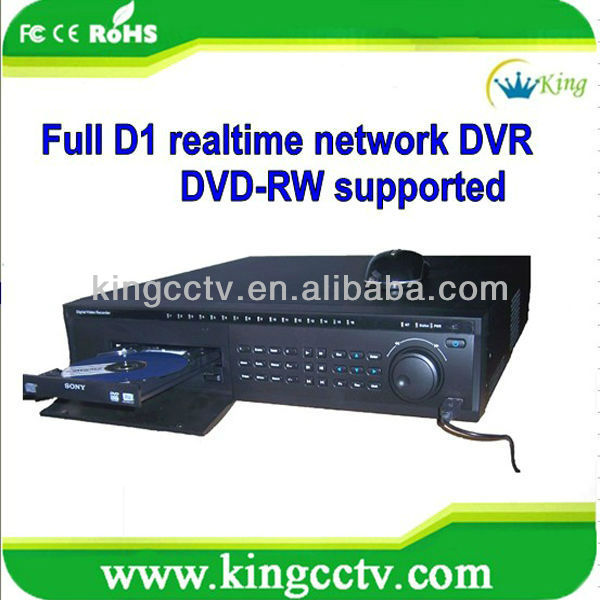Network cms 8 ch h 264 dvr software free recorder HK-S4008F with HDMI