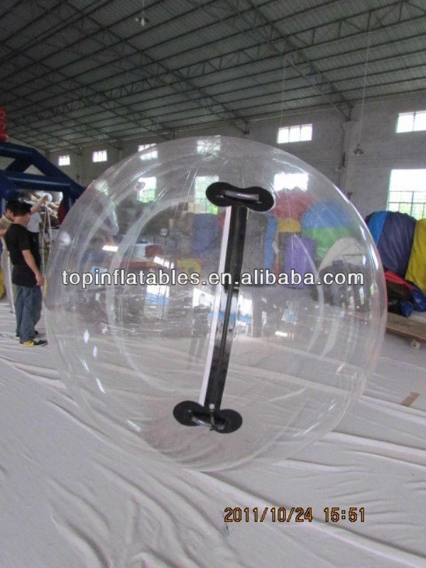 Soft Handle Inflatable Water Ball, Walk on Water Ball