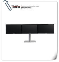 ThinkWise L301 triple arms monitor stand free standing thinkwise lcd monitor