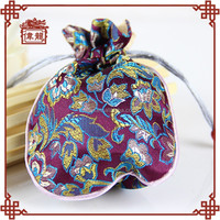 Wedding gift items, silk jewellery drawstring pouch